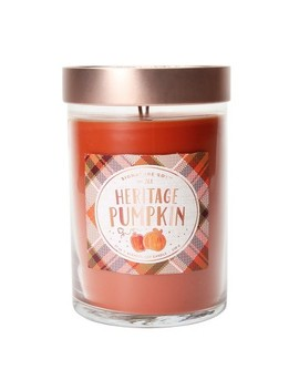 21oz X Large Lidded Jar 2 Wick Candle Heritage Pumpkin   Signature Soy by Target