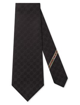 Fedra Silk Jacquard Tie by Gucci
