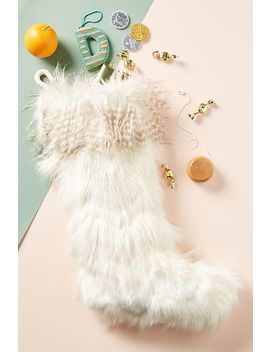 North Pole Stocking by Anthropologie