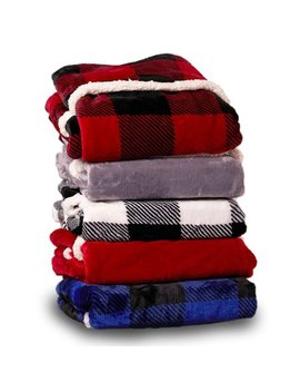 Oversized Velvet Plush Throw Blanket With Cozy Foot Pocket, Red by Cuddl Duds