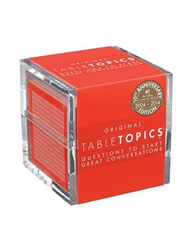 Table Topics Original   10th Anniversary Edition: Questions To Start Great Conversations by Table Topics