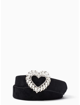 Stone Heart Belt by Kate Spade