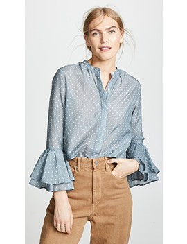 The Victoria Bell Sleeve Blouse by Birds Of Paradis