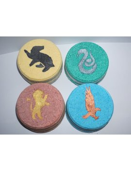 Hogwarts House Mascot Bath Bombs ** Read Description ** by Etsy