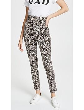 Leopard Pants by Rebecca Taylor