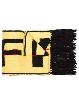 Contrast Logo Scarf by Off White