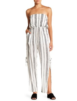Osaka Strapless Back Tie Jumpsuit by Tiare Hawaii