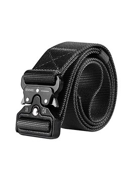 "Motusamare Tactical Belt Heavy Duty Military Style Webbing Riggers Web Belt With 1.5"" Metal Buckle by Motusamare"