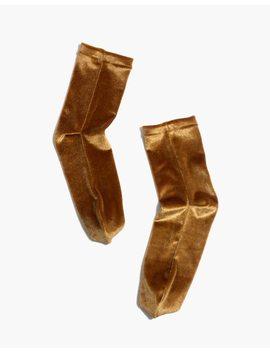 Velvet Ankle Socks by Madewell