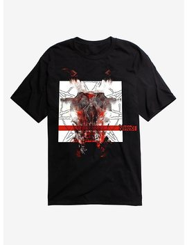 Slipknot Red Bar T Shirt by Hot Topic