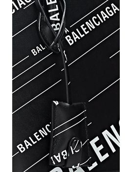Ville Small Leather Bowling Bag by Balenciaga