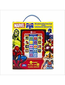 Marvel Super Heroes   Me Reader Electronic Reader With 8 Book Library    Pi Kids by Amazon