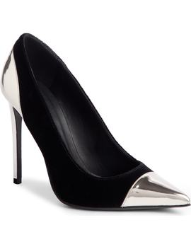 Daphne Cap Pointy Toe Pump by Balmain