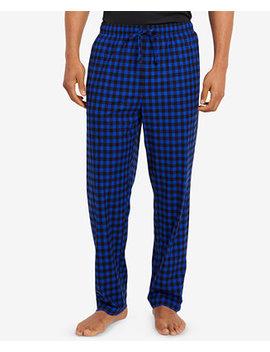 Men's Printed Fleece Pants by Nautica