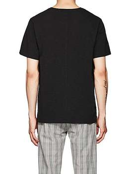 "Reversible ""No Need To Panic"" Cotton T Shirt by Ovadia & Sons"