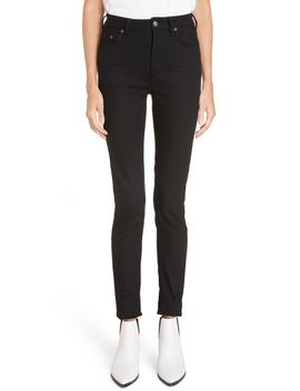 Peg High Waist Skinny Jeans by Acne Studios