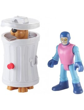 Imaginext Scooby Doo Hiding Scooby & Funland Robot by Imaginext Scooby Doo