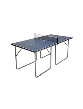 Joola Midsize Compact Table Tennis Table Great For Small Spaces And Apartments – Multi Use Free Standing Table   Compact Storage Fits In Most Closets   Net Set Included   No Assembly Required! by Joola