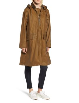 Margaret Howell Water Resistant Waxed Cotton Poncho by Barbour