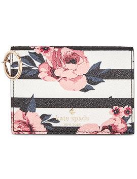 Hyde Lane Rose Stripe Wallet by Kate Spade New York