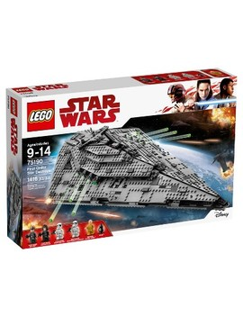 Lego®  Star Wars™ The Last Jedi First Order Star Destroyer™ 75190 by Lego