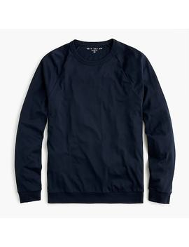 Destination Raglan Sleeve T Shirt In American Pima Cotton by J.Crew