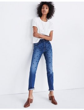 The Tall High Rise Slim Boyjean: Beaded Edition by Madewell