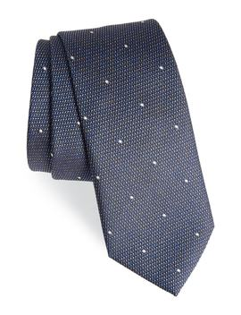 Manston M Dot Silk Tie by Burberry