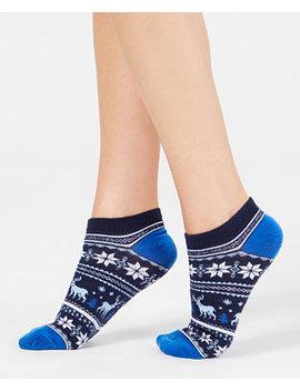 Women's Fair Isle Low Cut Socks, Created For Macy's by Charter Club