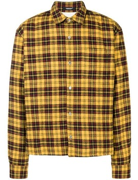 Plaid Shirt Jacket by Undercover