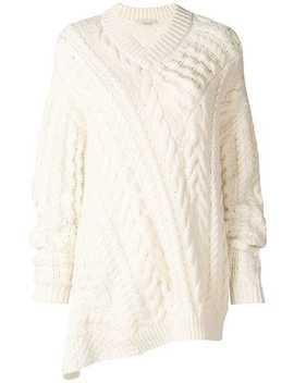 Cable Knit Oversized Sweater by Stella Mc Cartney