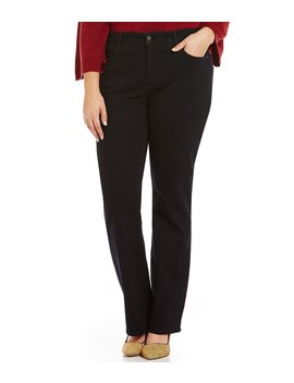 Plus Barbara Bootcut Jeans by Nydj