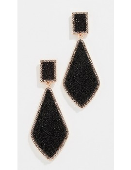 Twilight Druzy Drop Earrings by Bauble Bar