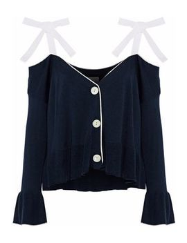Colby Cold Shoulder Silk And Cashmere Blend Cardigan by Cinq À Sept