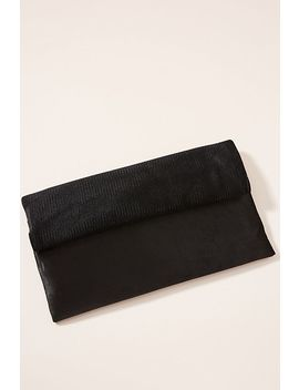Mixed Material Clutch by Anthropologie