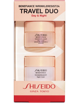 Benefiance Wrinkle Resist24 Travel Duo Day & Night by Shiseido