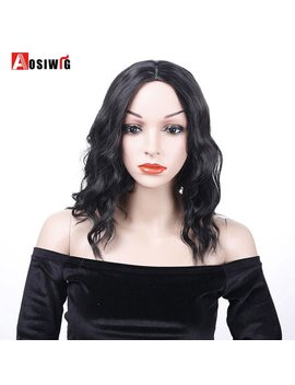 Aosiwig Short Curly Hair High Temperature Synthetic Female Clothing Party Halloween Fiber Wig Cospaly Wig by Aosiwig