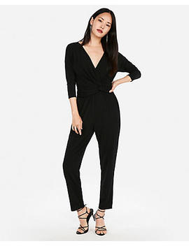 Twist Front Jumpsuit by Express