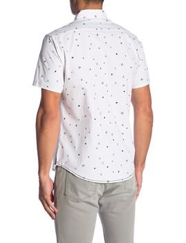 Printed Novelty Short Sleeve Shirt by Burnside