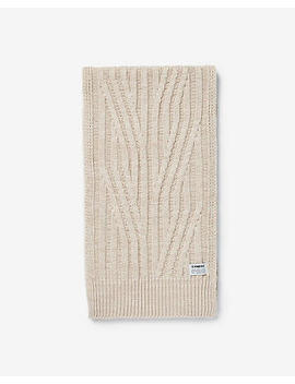 Engineered Knit Scarf by Express