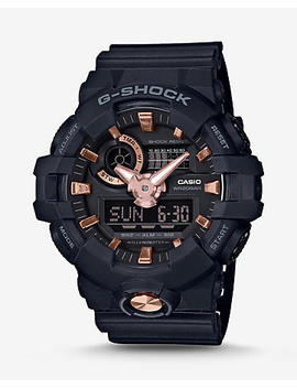 G Shock Rose Gold Black Analog Digital Watch by Express