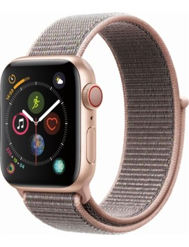 Apple Watch Series 4 (Gps + Cellular), 40mm Gold Aluminum Case With Pink Sand Sport Loop   Gold Aluminum by Apple