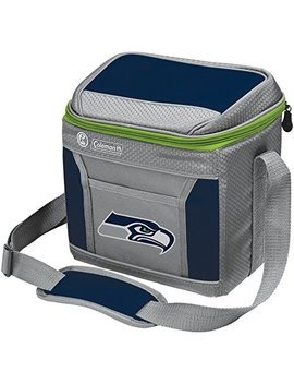 Nfl Soft Sided Insulated Cooler Bag, 9 Can Capacity With Ice (All Team Options) by Coleman