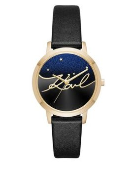 Camille Textured Strap Watch by Karl Lagerfeld