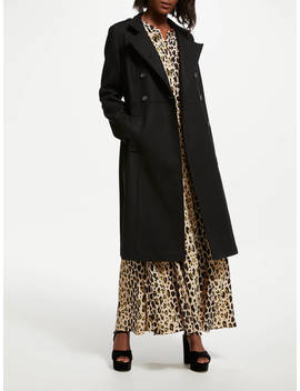 Somerset By Alice Temperley Military Coat, Black by Somerset By Alice Temperley
