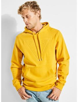 Roy Fleece Logo Pullover by Guess