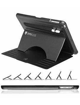 Zugu Case   9.7 I Pad 2018/2017 5th / 6th Gen & I Pad Air 1 Prodigy X Case   Very Protective But Thin + Convenient Magnetic Stand + Sleep/Wake Cover (Black) by Zugu Case