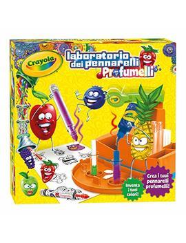 Crayola Laboratorio Profumelli, Per Creare I Tuoi Pennarelli Profumati, Età 6 Anni, Per Gioco E Regalo, 25 7240 by Crayola