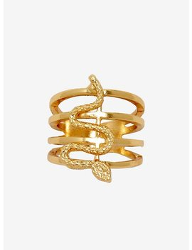 Multi Band Snake Ring by Hot Topic