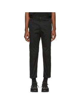 Black P Madox Cargo Pants by Diesel
